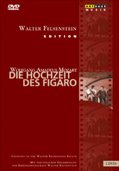 Mozart: The Marriage of Figaro (Felsenstein Edition) / Oberfrank / Komische Oper Berlin / Dene [DVD]