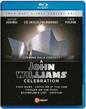 A John Williams Celebration, Opening Gala Concert - music from Star Wars, Catch Me if you Can, Fiddler on the Roof, Schindler's List; Amistad / Itzhak Perlman, violin [Blu-ray]