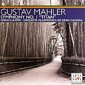 Mahler: Symphony no 1 / Leaper, Gran Canaria Filarm&oacute;nica