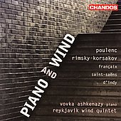Piano and Wind / Ashkenazy, Reykjavik Wind Quintet