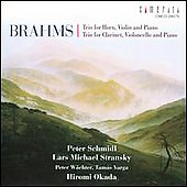 Brahms: Trios / Stransky, Schmidl, Wachter, Varga, Okada
