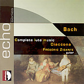 Echo - Bach: Complete Lute Music / Zigante