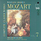 Mozart: Complete Clavier Works Vol 7 / Rampe