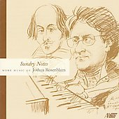 Joshua Rosenblum: Sundry Notes / Herrick Trio