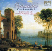 Geminiani: Cello Sonatas Op 5 / ter Linden, et al