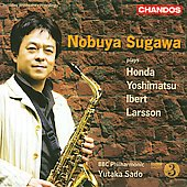 Nobuya Sugawa plays Yoshimatsu, Honda, Ibert, Larsson / Sado,  BBC PO, et al