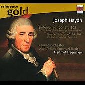 Reference Gold - Haydn: Symphonies no 60, 94 & 103 / Haenchen, C.P.E. Bach CO