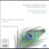 Cello Concertos & Sinfonias: Christian Ernst Graf & Carl Friedrich Abel