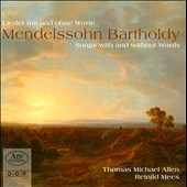 Mendelssohn: Songs without Words / Allen, countertenor