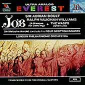 Vaughan Williams: Job, The Wasps;  Arnold / Boult, Arnold