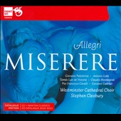 Allegri: Miserere / Stephen Cleobury