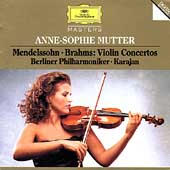 Mendelssohn, Brahms: Violin Concertos / Mutter, Karajan