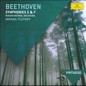 Beethoven: Symphonies Nos. 5 & 7 / Pletnev - Russian Nat'l Orch.