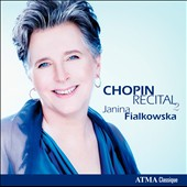 Chopin Recital Vol. 2 / Janina  Fialkowska, piano