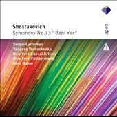 Shostakovich: Symphony No. 13 