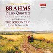 Brahms: The 3 Piano Quartets / Borodin Trio, Rivka Golani