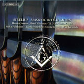 Sibelius: Masonic Ritual Music (original & orchestral versions) / Harri Vitanen, organ; Hanu Jurmu, tenor