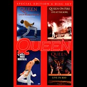 Queen: Live at Wembly/Rock Montreal/Live in Rio/On Fire: Live at the Bowl