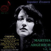Martha Argerich, Vol. 4: Chopin [Live, 1955-1965]