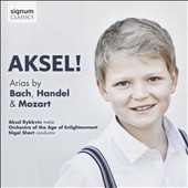 Askel! - Arias by Bach, Handel, and Mozart / Askel Rykkvin, treble; Nigel Short, Orchestra of the Age of Enlightenment