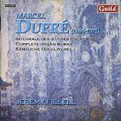 Dupr&#233;: Complete Organ Works Vol 2 / Jeremy Filsell