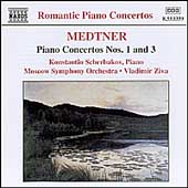 Romantic Piano Concertos - Medtner: Piano Concertos no 1 & 3