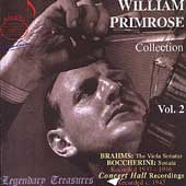 Legendary Treasures - William Primrose Collection Vol 2