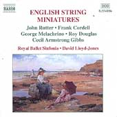English String Miniatures - Rutter, Cordell, Melachrino, etc