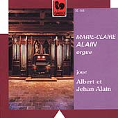 Albert and Jehan Alain: Organ Works / Marie-Claire Alain