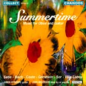 Summertime - Music for Guitar and Oboe / Wynberg, Anderson
