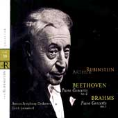 Rubinstein Collection Vol 59 - Beethoven, Brahms: Concertos