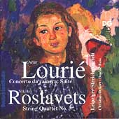 Louri&eacute;, Roslavets / Ockert, Leipziger Streichquartett