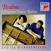 Brahms: Hungarian Dances, Waltzes / Duo Tal & Groethuysen