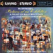 Mussorgsky: Pictures at an Exhibition, etc / Reiner, Chicago