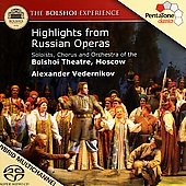 The Bolshoi Experience - Highlights from Russian Operas