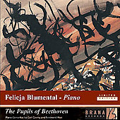 The Pupils of Beethoven - Czerny, Ries / Blumental, et al