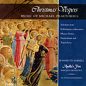 Praetorius: Christmas Vespers / Apollo's Fire