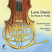 Love Duets for Horn and Viola / Krause, Stobart
