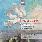 Poulenc: Concerti, Sinfonietta, Aubade, etc /  Hickox, Pommier, Cole, Wier, Queff&eacute;lec, et al