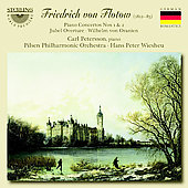 Flotow: Piano Concerto no 1 & 2, Jubel Overture, etc / Petersson, Wiesheu, Pilsen PO