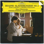 Brahms: Piano Concerto no 2 / Zimerman, Bernstein, VPO