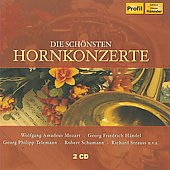 Mozart, Telemann, Schumann, Handel: Horn Concertos / Erich Penzel, et al