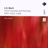 J.S. Bach: Violin Sonatas and Partitas, BWV 1001-1006