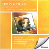 Iannis Xenakis: Orchestral Works, Vol. 4 / Tamayo