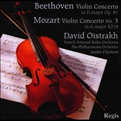 Beethoven: Violin Concerto; Mozart: Violin Concerto No. 3