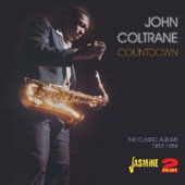 John Coltrane: Countdown-4 LPs: Blue Train/Giant Steps/Soul Trane/Coltrane Jazz