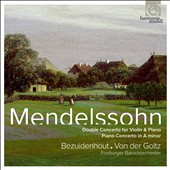 Mendelssohn: Double Concerto; Piano Concerto / Kristian Bezuidenhout