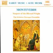 Monterverdi: Vespers / The Scholars Baroque Ensemble