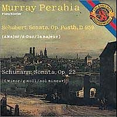 Schubert, Schumann: Piano Sonatas / Murray Perahia