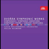 Dvor&#225;k: Symphonies, Symphonic Variations, Symphonic Poems, Concert Overtures / Neumann - Czech PO